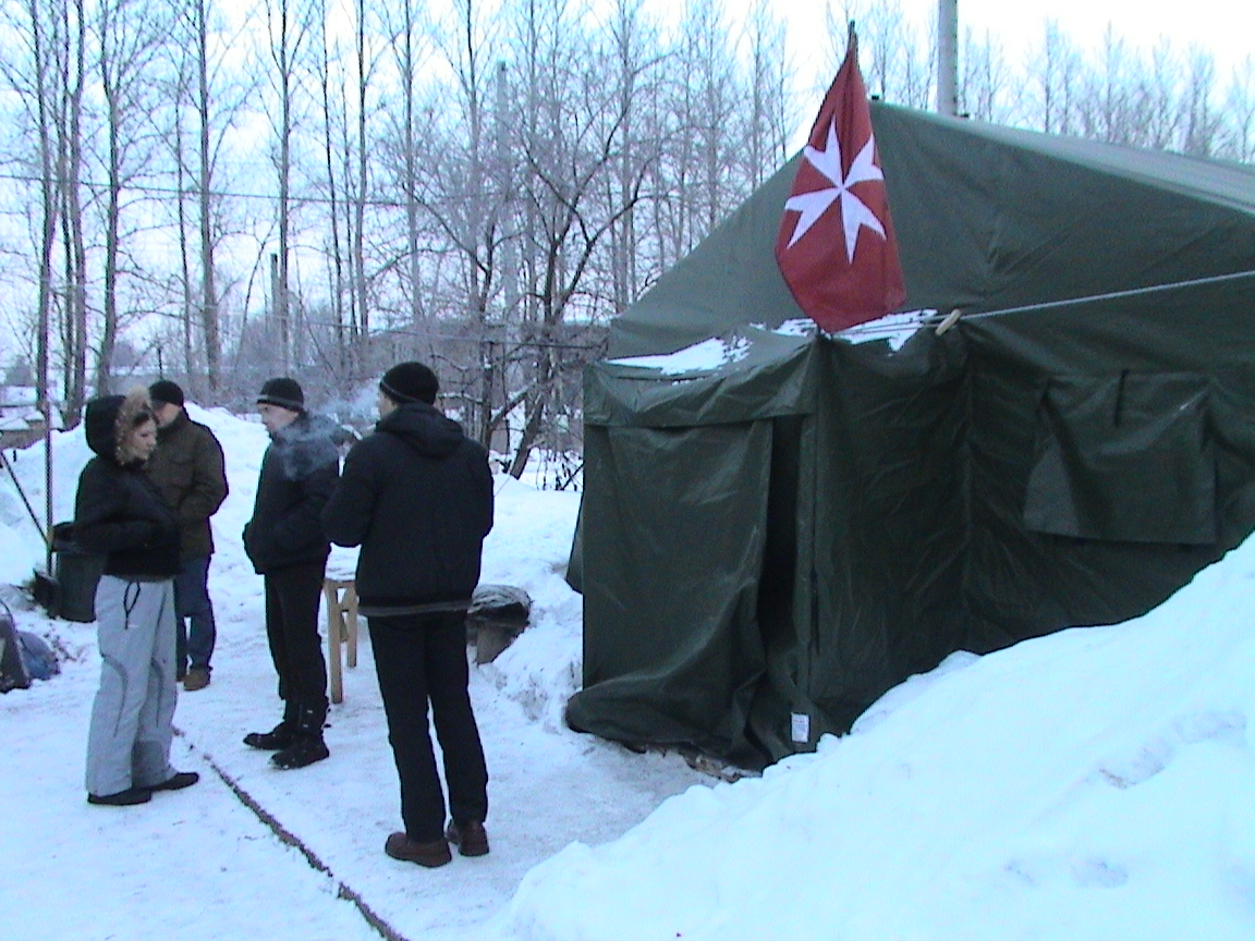 Mobile Shelter for the Homeless, St Petersburg, Russia