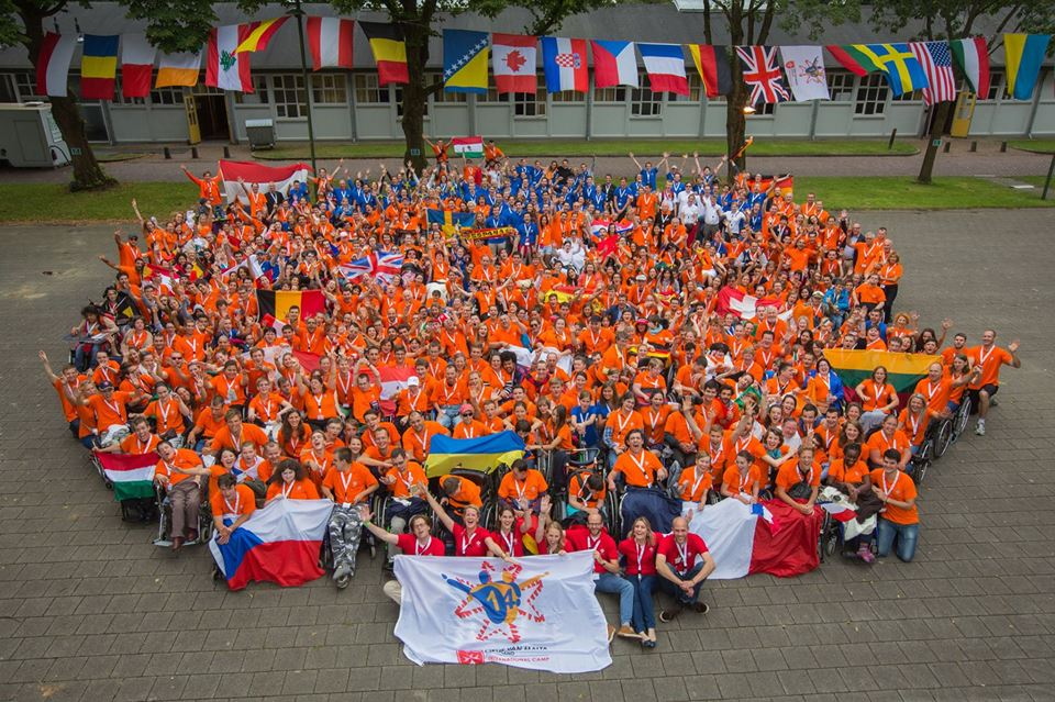 International Summer Camp for Disabled Youth, Netherlands