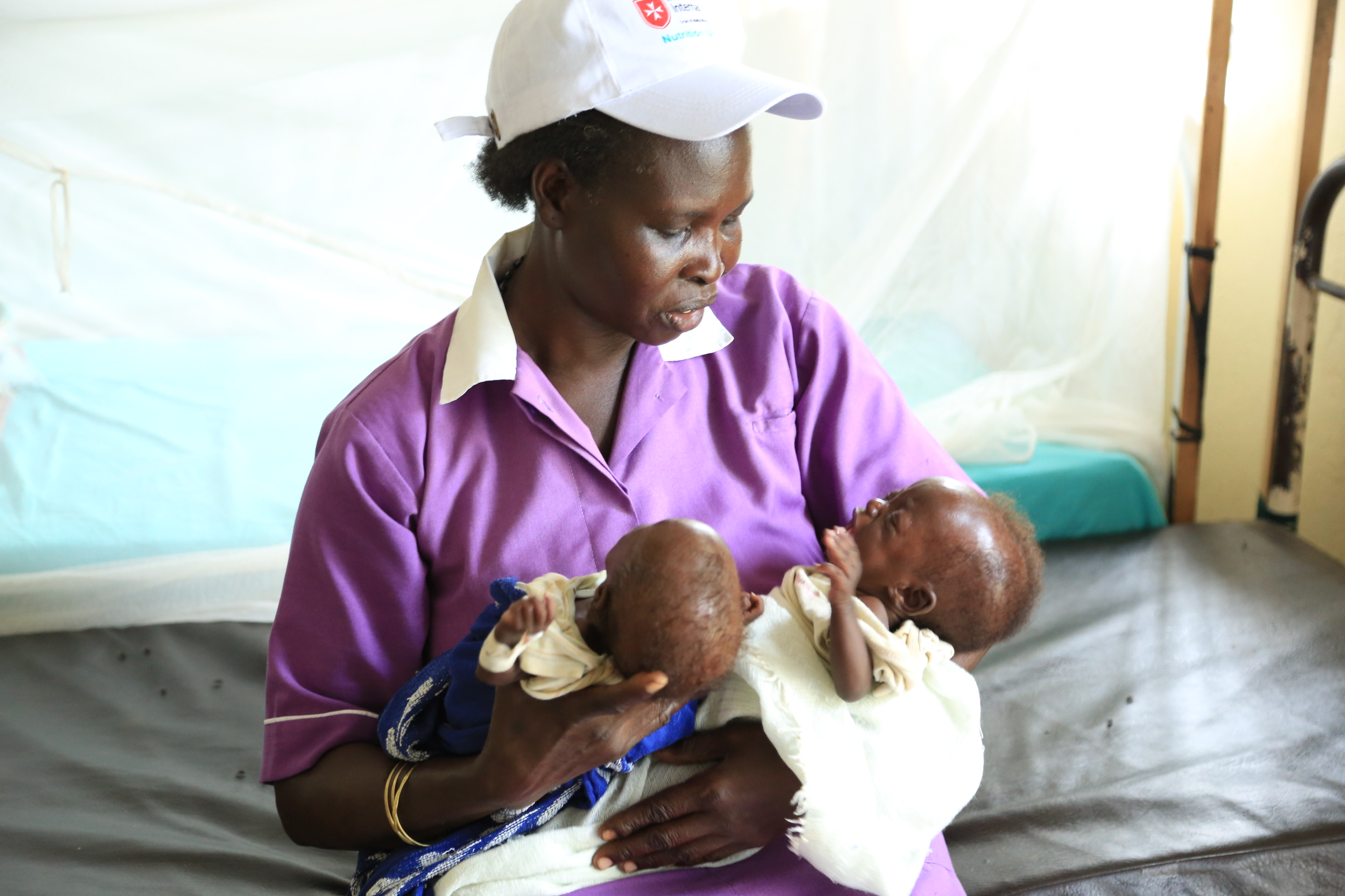 Reducing Malnutrition, Maracha Hospital, Uganda