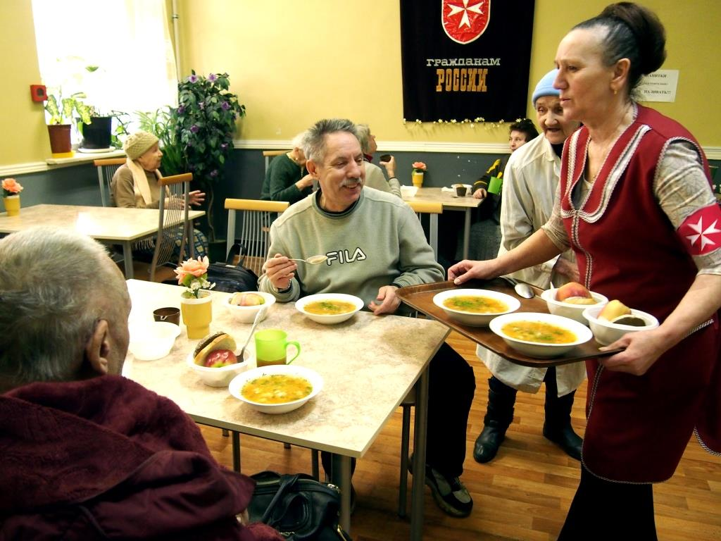 Social Club for the Elderly, St Petersburg, Russian Relief Service