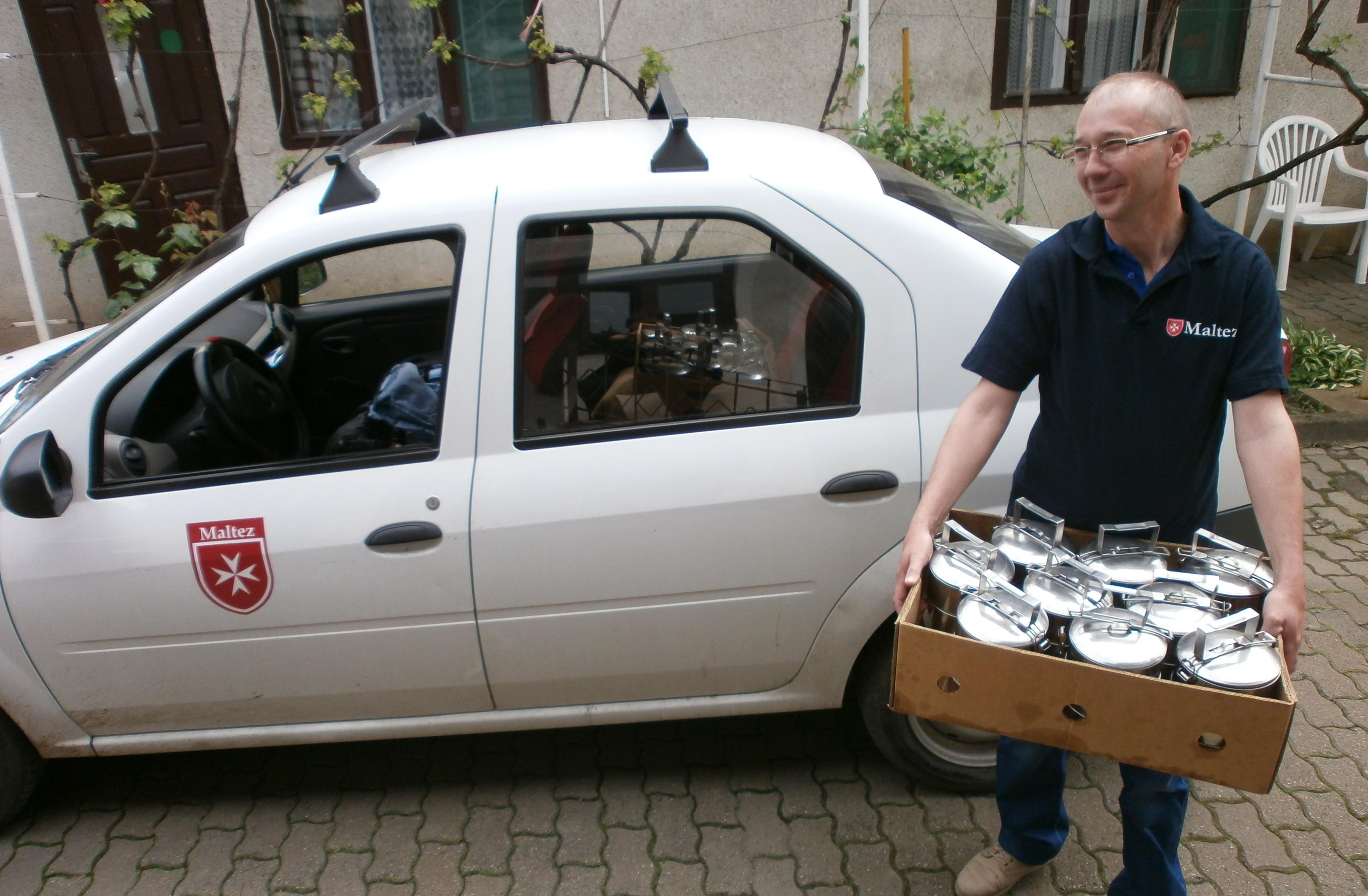 Social Canteen, Romania, Romanian Relief Service