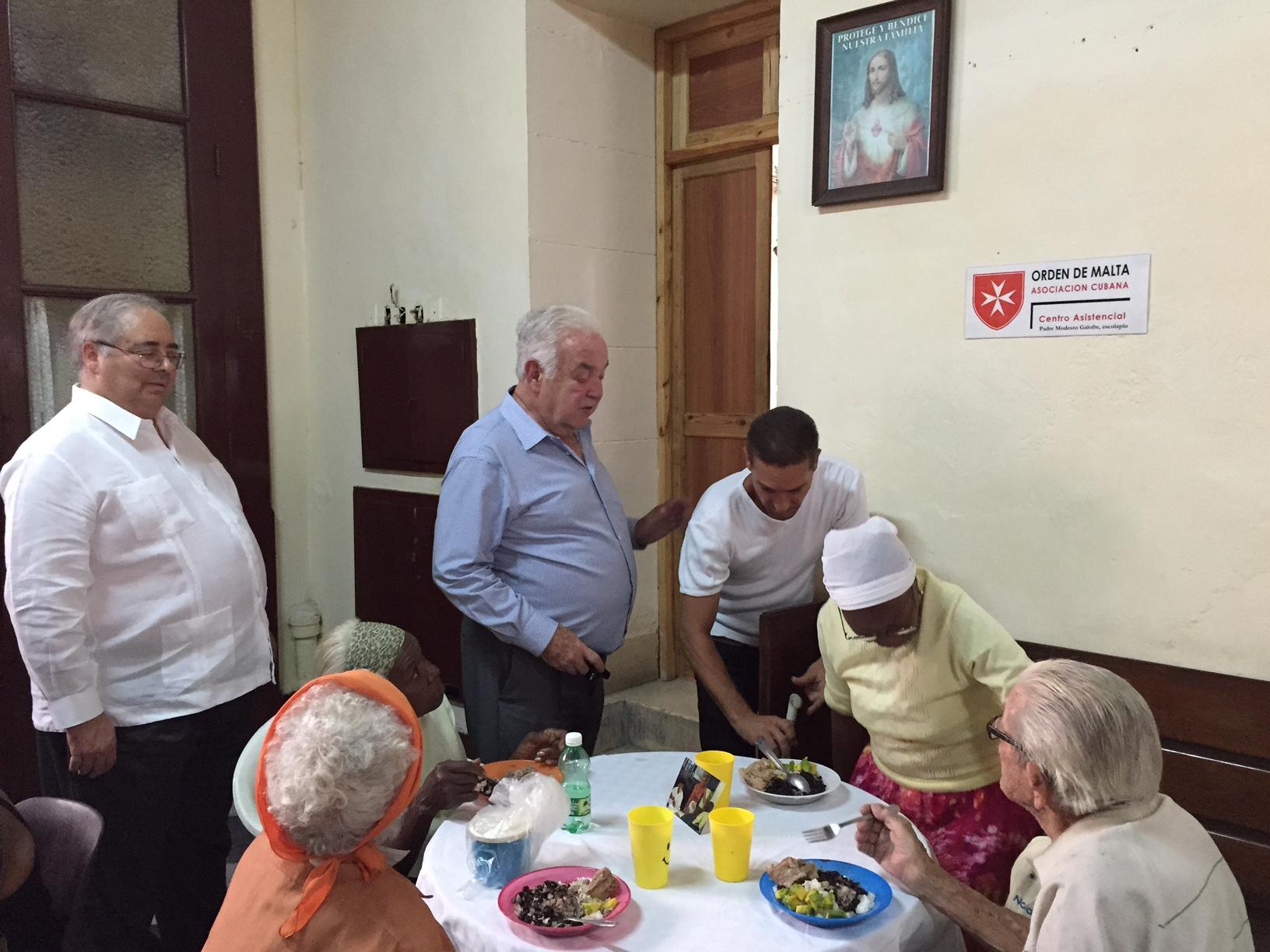 Comedores en Cuba: Support for the Elderly, Cuba, Cuban Association