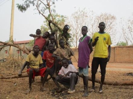 A Safe Space for Street Children, South Sudan, Malteser International: