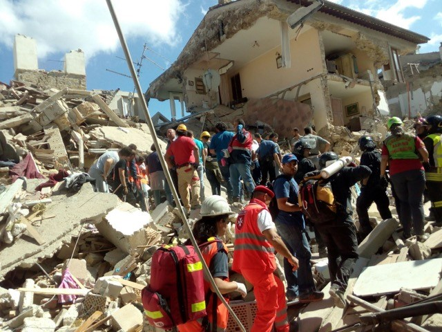 The Order of Malta's Response to the Italian Earthquake