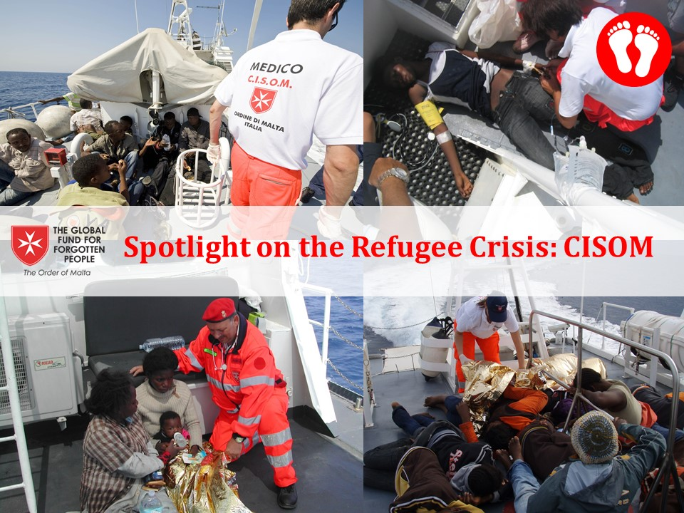 Spotlight on the Refugee crisis – Italy: specialized rescue at sea provided in the Mediterranean Sea