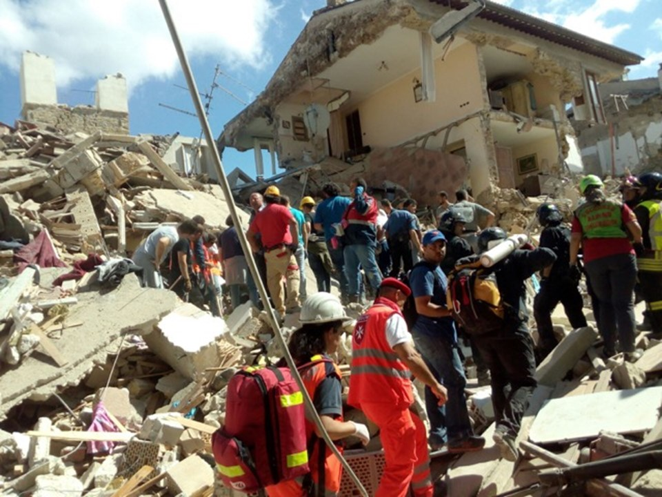 Emergency Support for Earthquake Victims, Italy, Italian Relief Corps (CISOM)