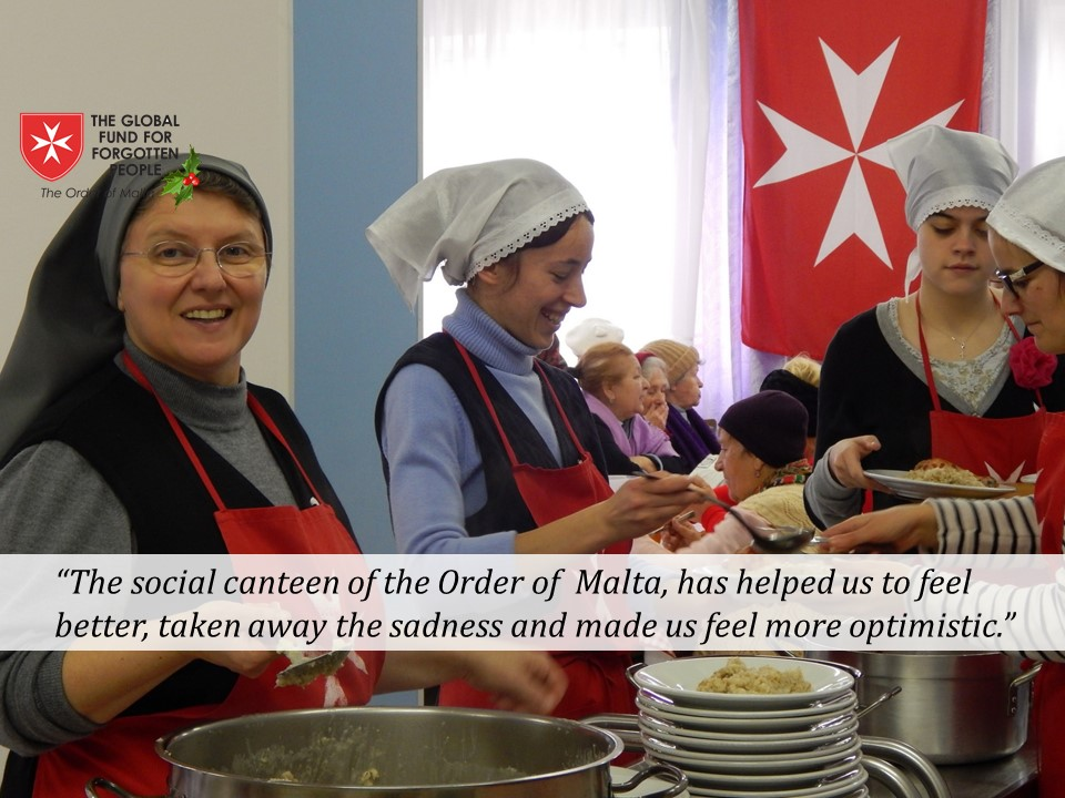 The Order's soup kitchen in Chisinau, Moldova