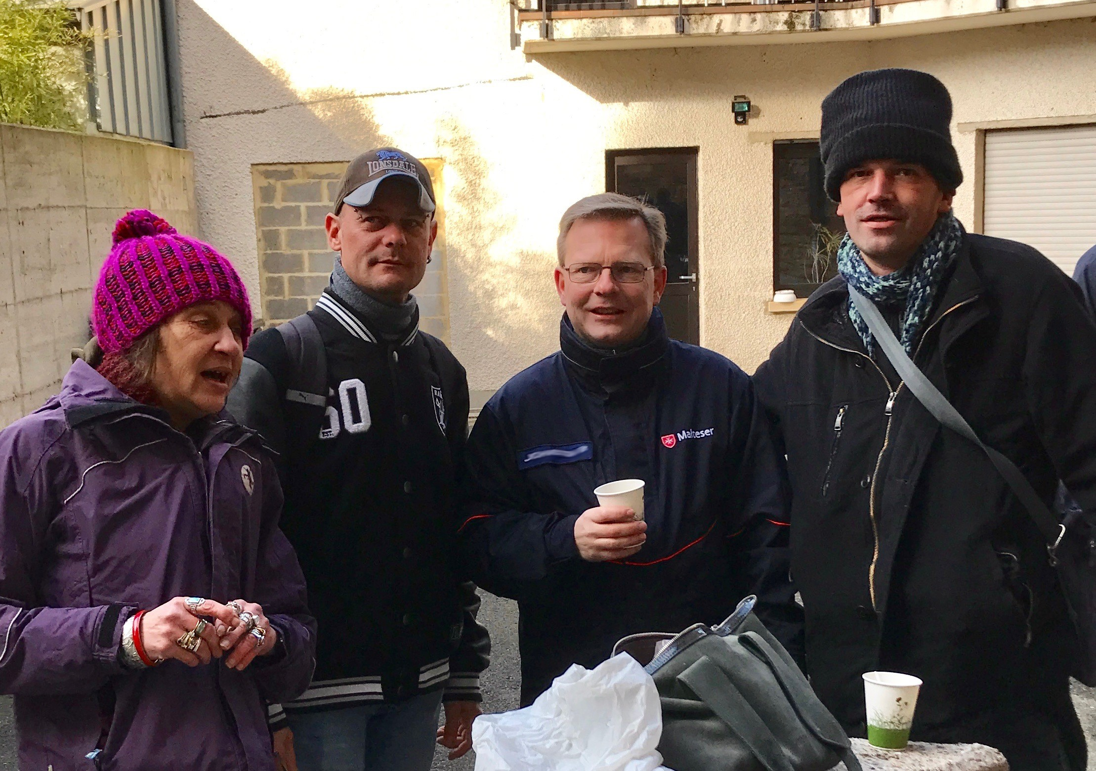 Breakfast for the Homeless, Luxembourg, Luxembourg Relief Service