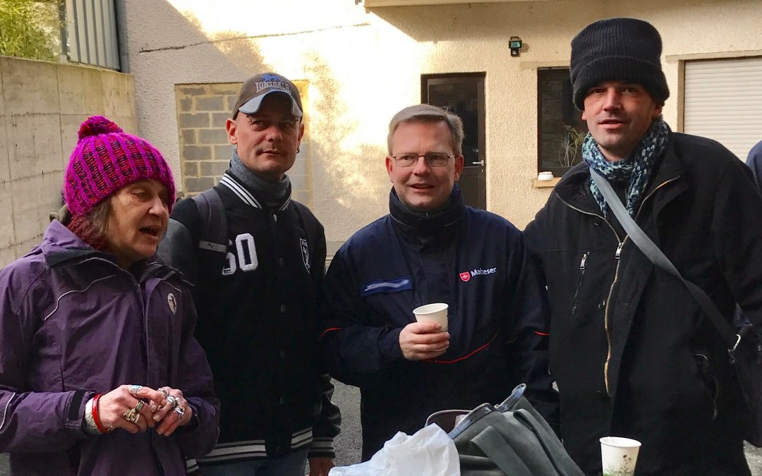 Breakfast for the Homeless in Luxembourg