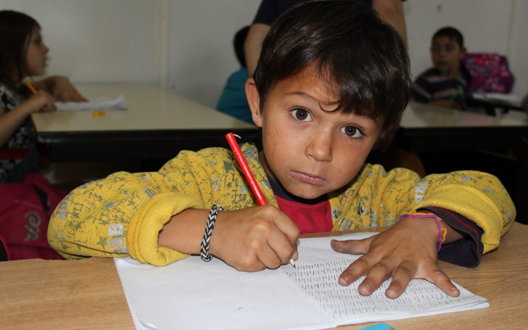 The Order's work with refugees and displaced children: