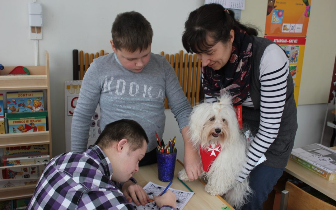 Lithuanian Relief Service of the Order of Malta, Dog Therapy