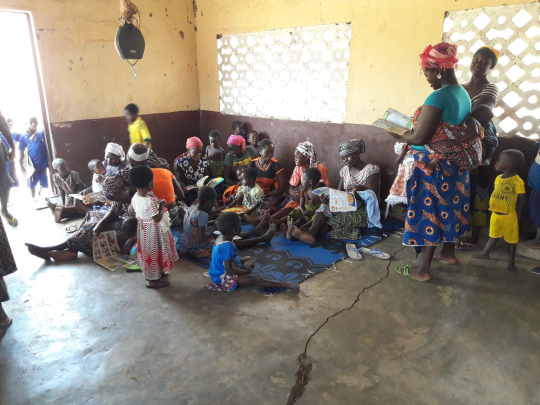Outreach for Mothers and Children, French Association, Togo