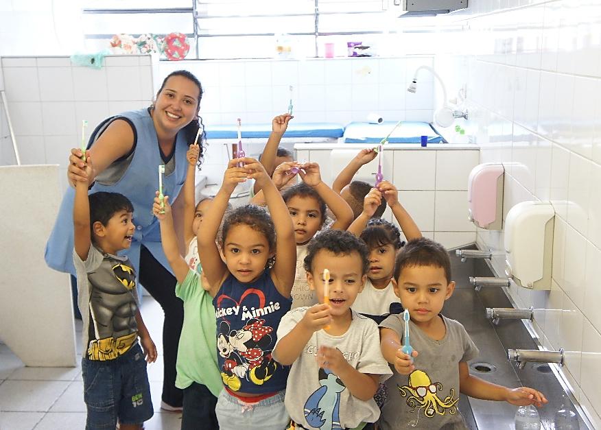 Kindergarten for Vulnerable Children, Brazilian Association of Sao Paulo & Southern Brazil
