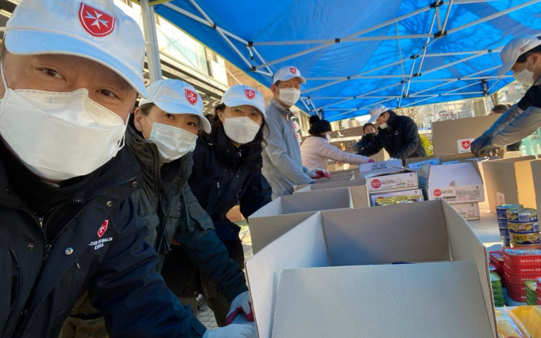 Reports from the Frontline: Order of Malta Korea's Response to the COVID-19 Pandemic